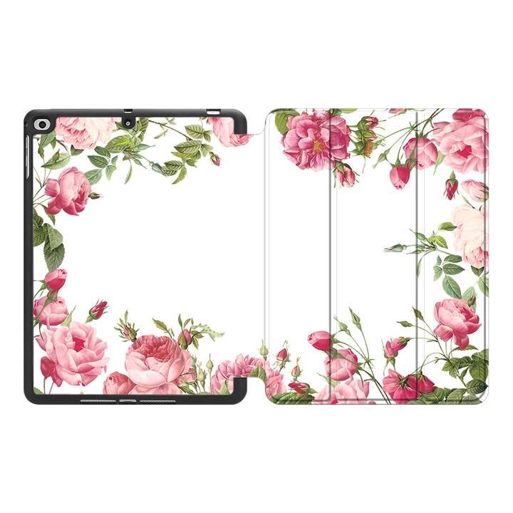 """EG MTT Hülle für Apple iPad Pro 2018 12.9"""" - Blumen"""