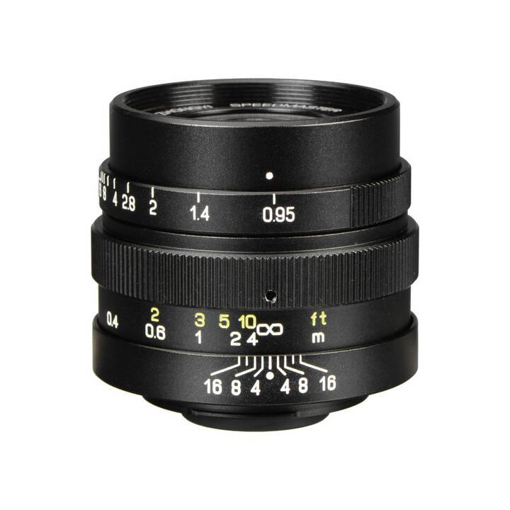 Speedmaster 25mm / 0.95 Black (MFT)