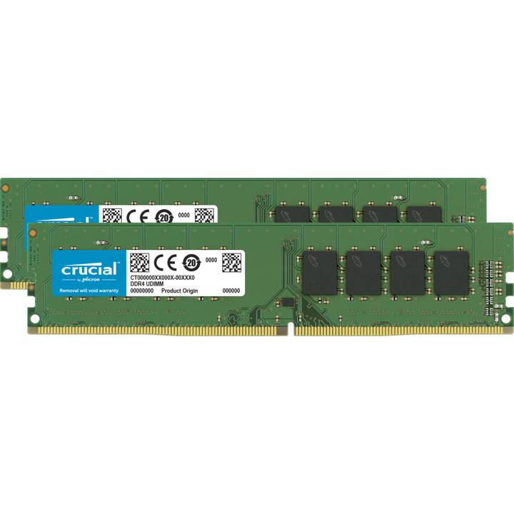 MICRON TECHNOLOGY CT2K16G4DFS8266 (2 x 16 Go, DDR4, DIMM 288-Pin)
