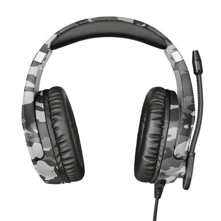 TRUST GXT 488 (Over-Ear, Grigio, Camuffamento)