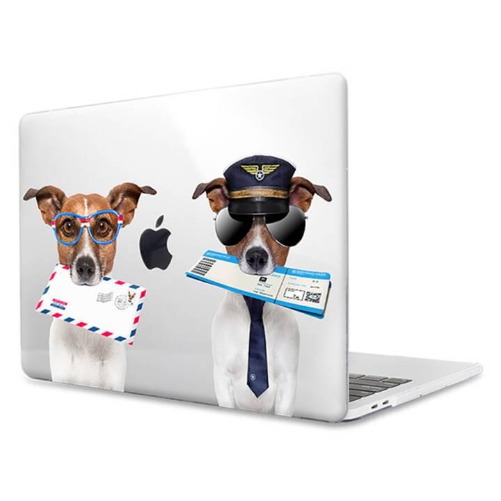 """EG MTT Housse pour ordinateur portable pour Macbook Pro 13"""" Touch Bar - Chiens"""