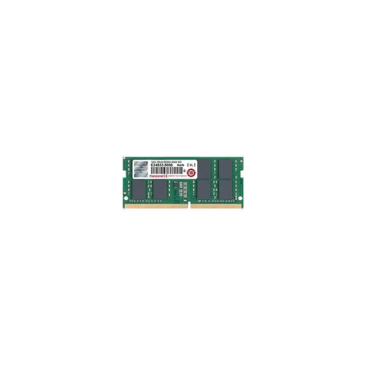 TRANSCEND TS1GSH64V6B (1 x 8 GB, DDR4-2666, SO-DIMM 260-Pin)