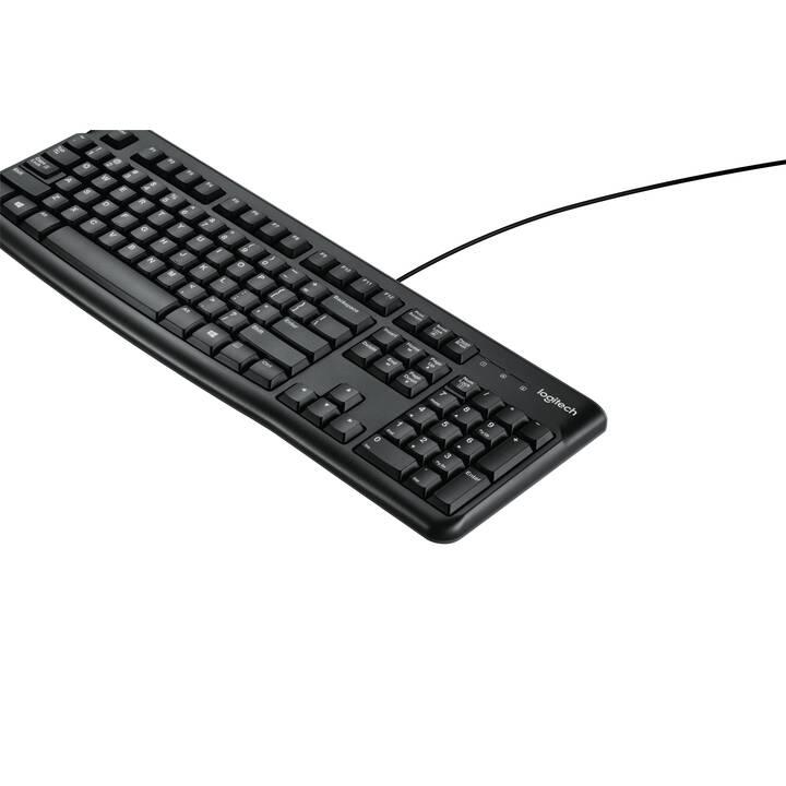 LOGITECH K120 (USB, BEL, Câble)