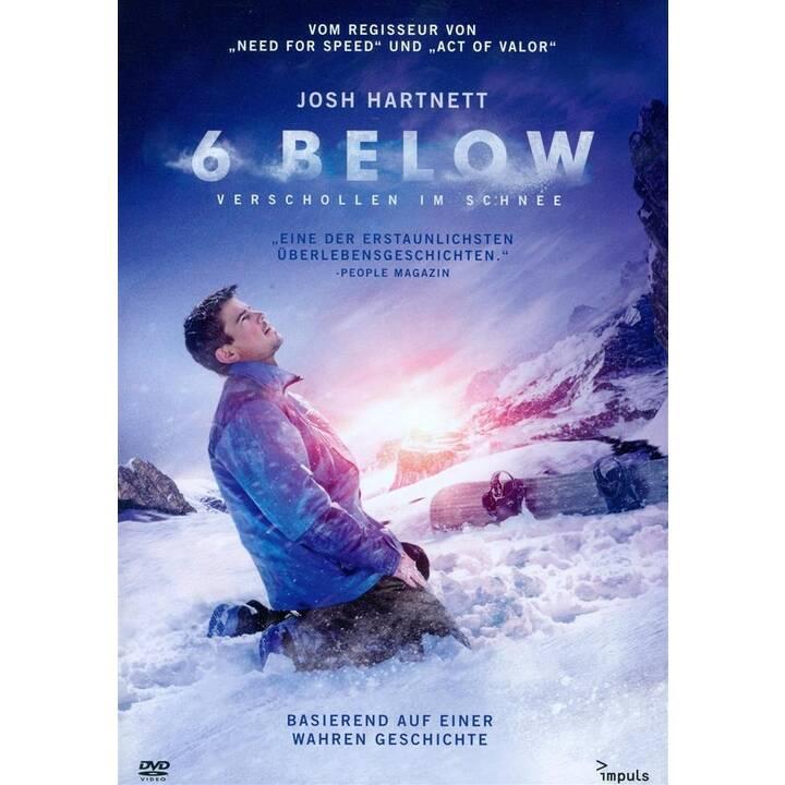6 Below - Verschollen im Schnee (DE, EN)