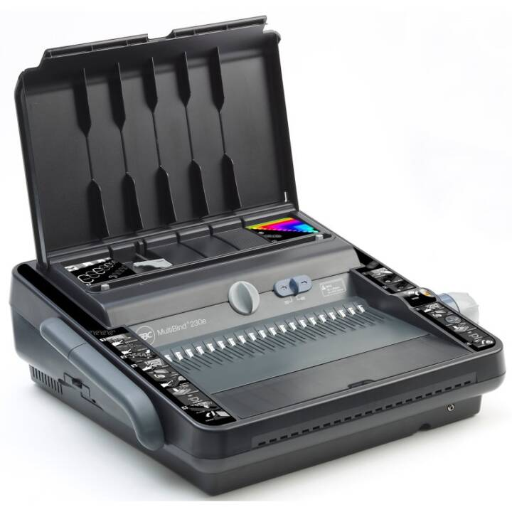 GBC MultiBind 230E (Drahtbindung, A5, A4, 450 Blatt)