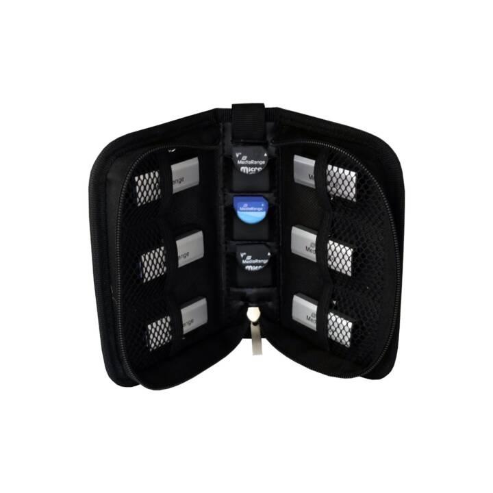 MEDIARANGE Pochette de stockage BOX98 (Clé USB, Carte mémoire)
