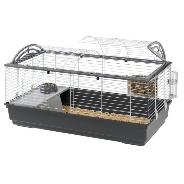 FERPLAST Nagerkäfig Casita 120 (Meerschweinchen , Kaninchen , 119 cm x 58 cm x 61 cm)