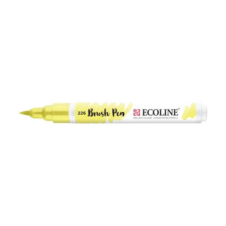 TALENS Ecoline Brush Pen, Pastellgelb