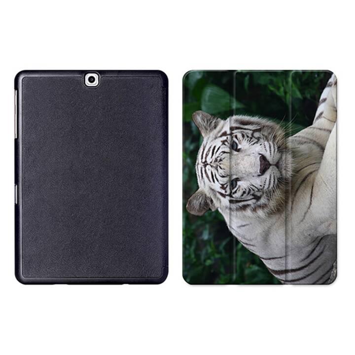 """EG MTT Tablet Tasche mit Smart faltbare Abdeckung für Samsung Galaxy Tab S2 9.7 """"- Tiger"""