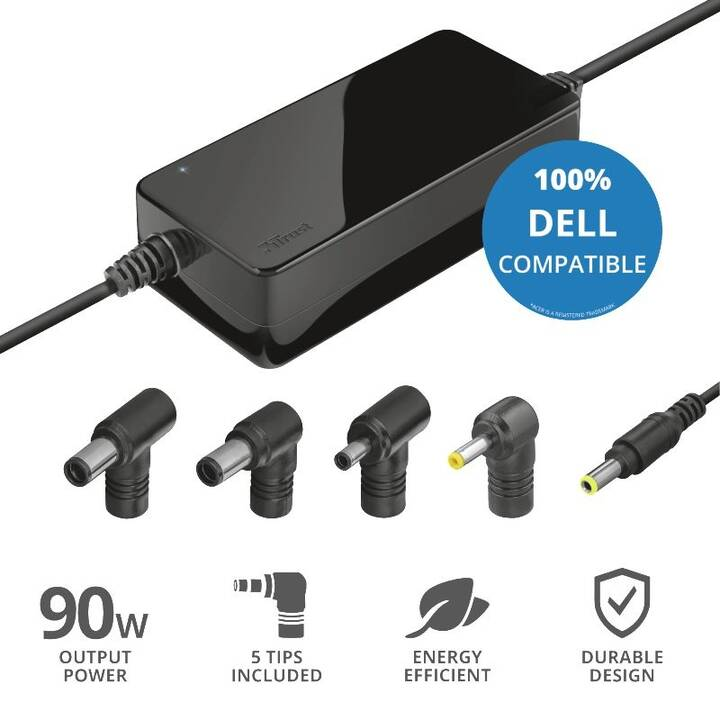 TRUST Maxo Dell Universalnetzteil (90 W)