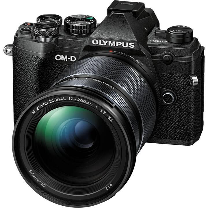 OLYMPUS OM-D E-M5 Mark III +  M.ZUIKO DIGITAL ED 12‑200mm F3.5‑6.3 Kit (20.40 MP, WLAN)