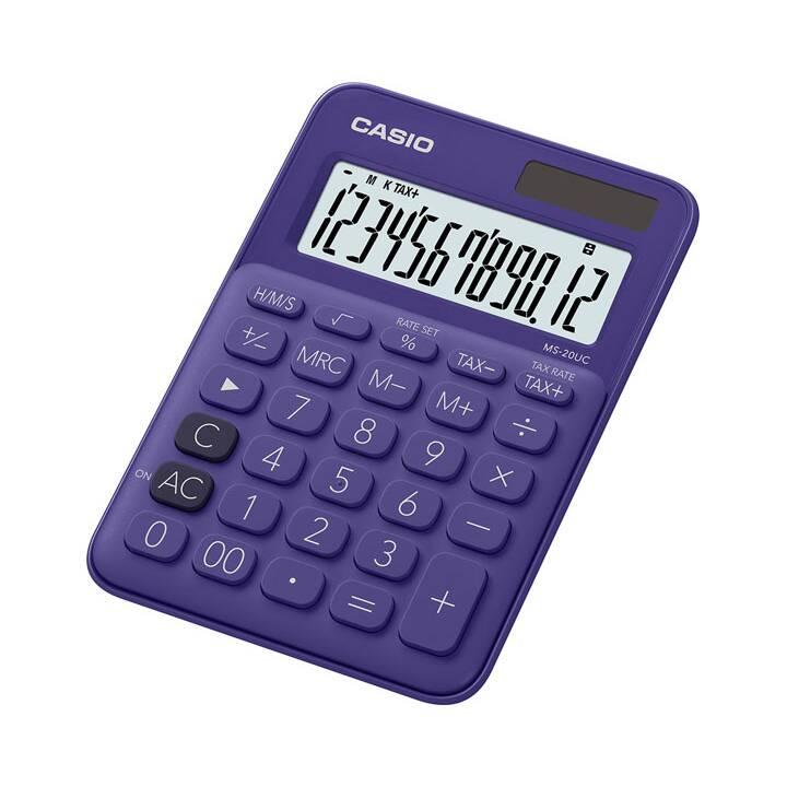 CASIO MS-20UC Calcolatrici da tascabili (Funzionamento di batteria standard, Cellule solari)
