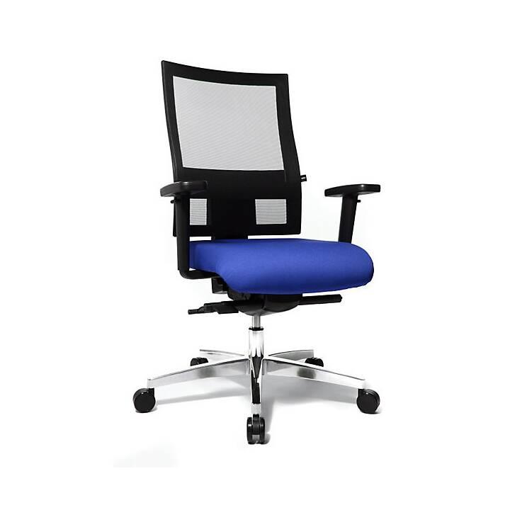 Sitness Bürostuhl (Blau, Schwarz)