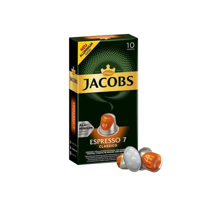JACOBS Kaffeekapseln Espresso 7 Classico
