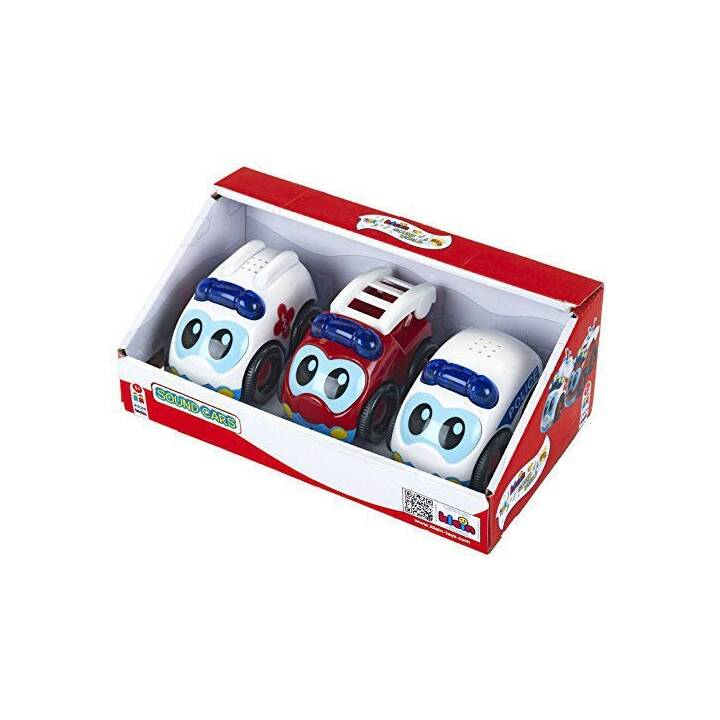 KLEIN-TOYS BOSCH Sound Cars Set de 3 voitures