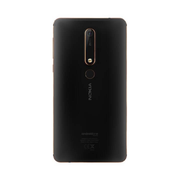 """NOKIA 6.1 2018 (5.5"""", 32 GB, 16 MP, Noir, Cuivre)"""
