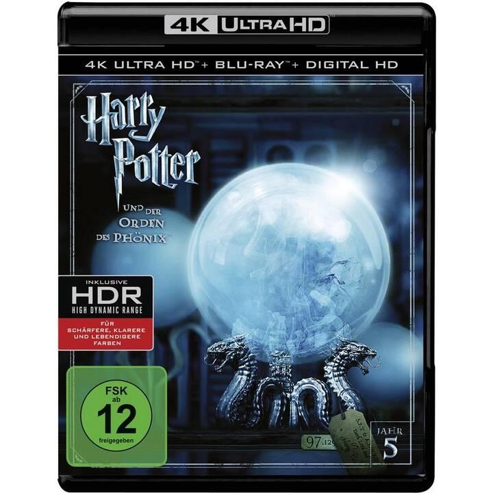 Harry Potter und der Orden des Phönix (4K Ultra HD, DA, PL, ES, IT, NL, DE, SV, EN, FR)