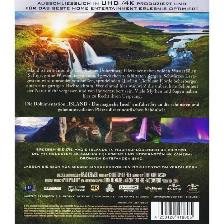 Island - Die magische Insel (4K Ultra HD, EN, DE)