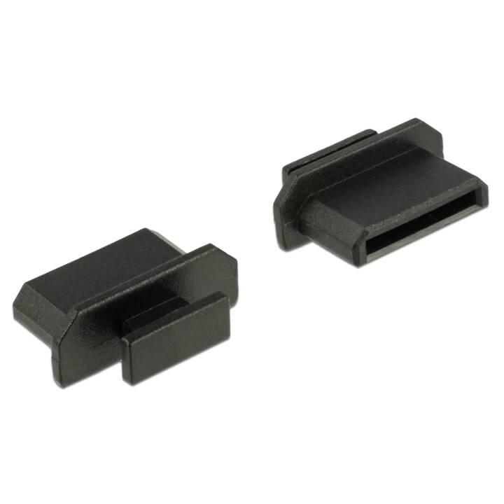 DELOCK HDMI mini-C female Staubabdeckung mit Griff