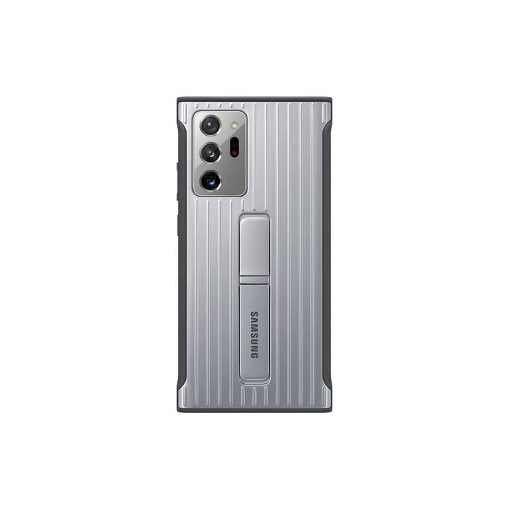 SAMSUNG Backcover Protective Standing (Galaxy Note 20 Ultra, Galaxy Note 20 Ultra 5G, Silber)