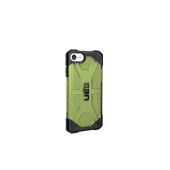 URBAN ARMOR GEAR Backcover Plasma (iPhone SE 2020, Vert électrique, Transparent)