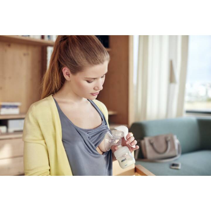 PHILIPS AVENT set per l'allattamento al seno con tiralatte manuale