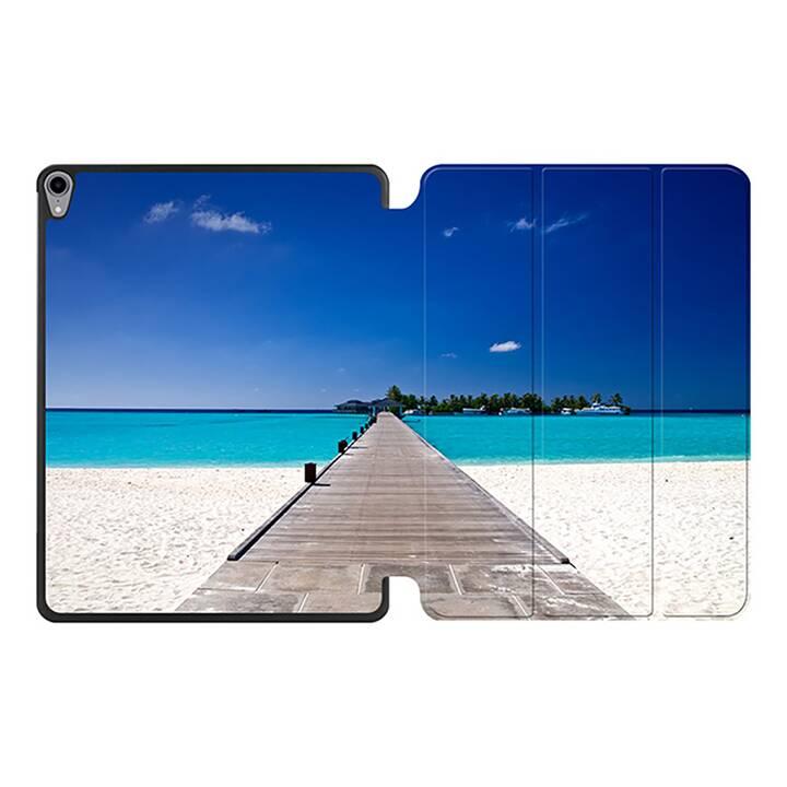 """EG MTT Coque pour iPad Pro 12.9"""" 2018 - conque de plage"""