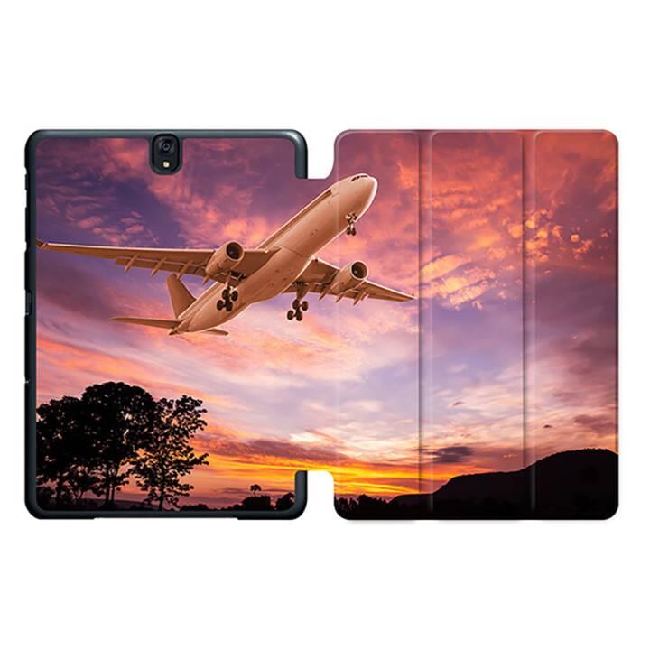 """EG MTT Sacoche à comprimés avec housse pliable Smart pour Samsung Galaxy Tab S3 9.7"""" - Airplane MTT"""