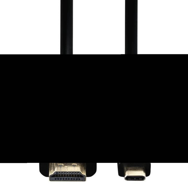 HAMA USB-C/HDMI Kabel 1.8m