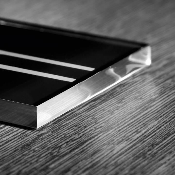 SIGEL PA316 Cartello informativo, nero, argento