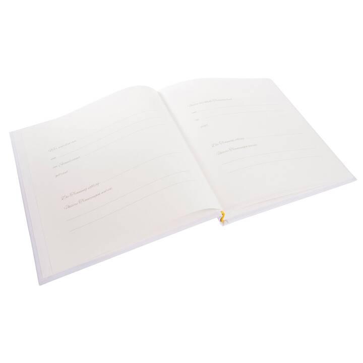 GOLDBUCH Floreale Album fotografico (Bianco, Multicolore)