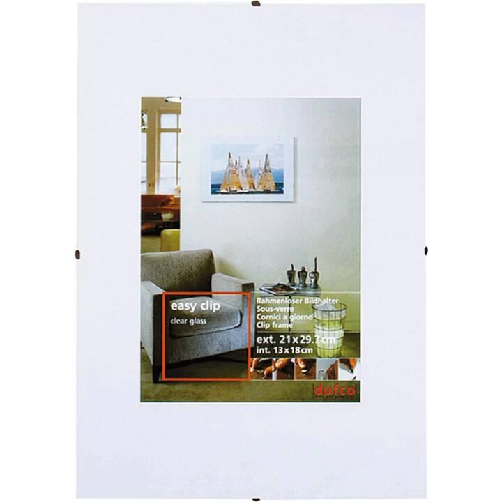 DUFCO Easy Clip Cadres (50 cm x 70 cm, Blanc)