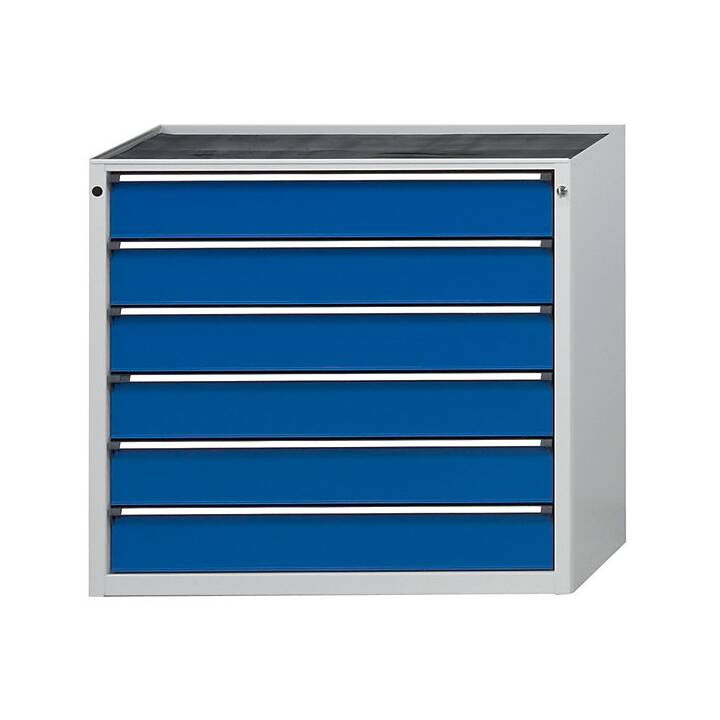ANKE Tiroir armoire (Bleu, Gris)