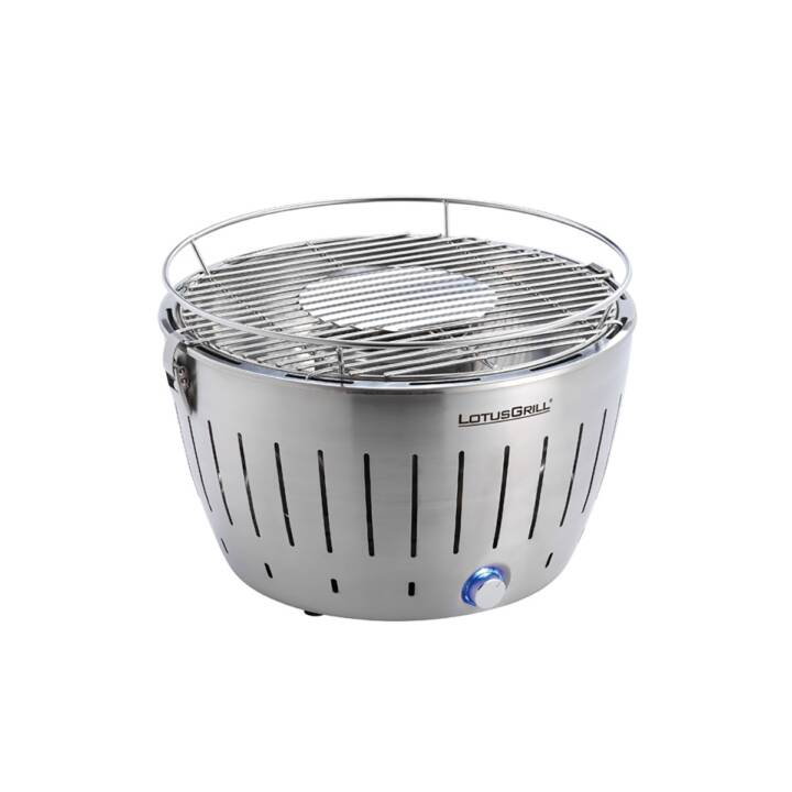 LOTUSGRILL Silber Metallic