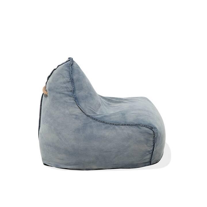 Der Sitzsack ist eine bequeme und prakti