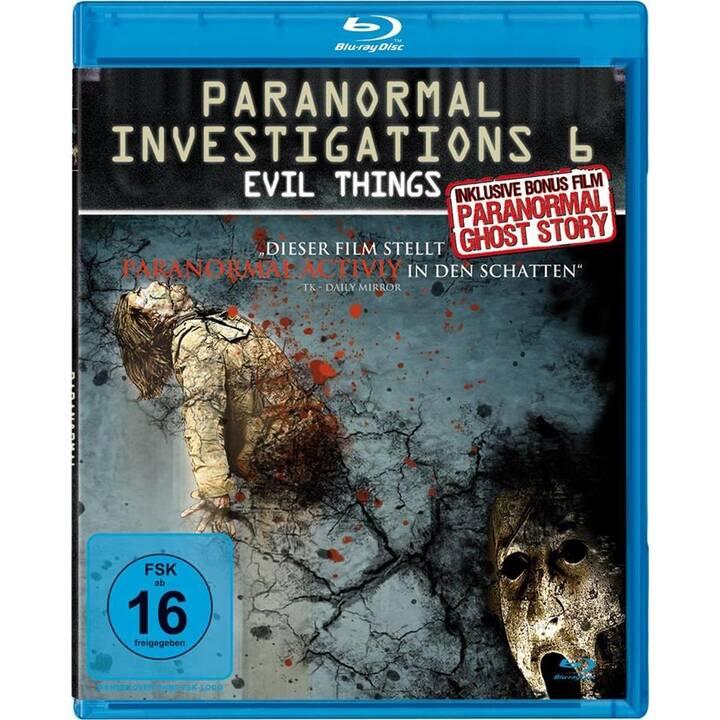 Paranormal Investigations - Evil Things (DE, EN)