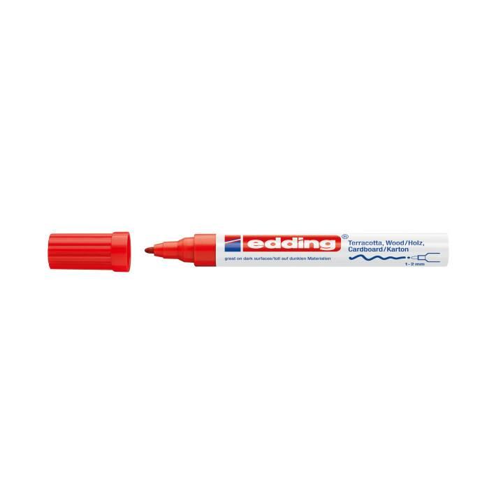EDDING Marqueur Déco 4040 1-2mm rouge