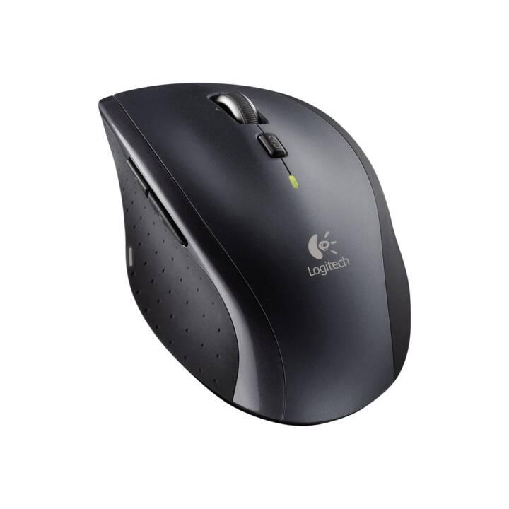 LOGITECH M705 Marathon Maus (Kabellos, Notebook, Desktop)