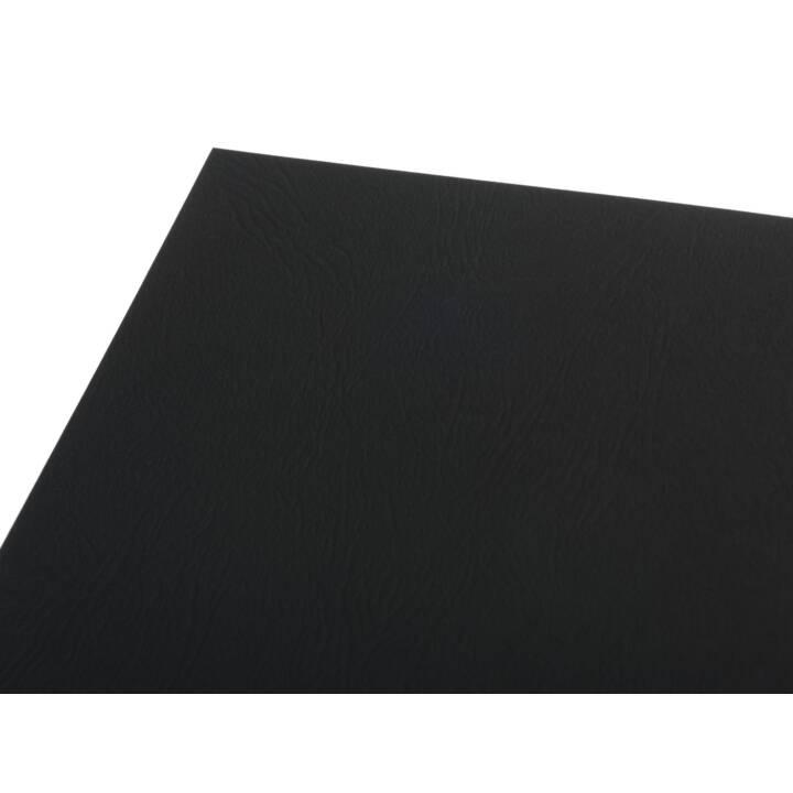 FELLOWES Einbanddeckel Deckblatt, Schwarz