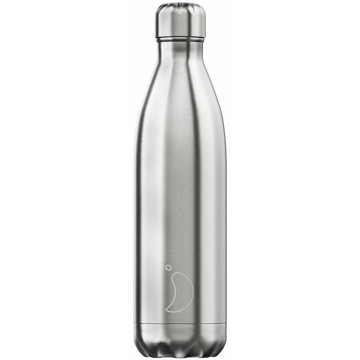 CHILLY'S Borraccia Stainless Steel (0.75 l, Argento)