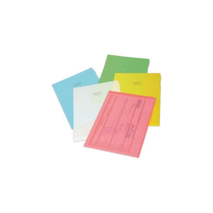 ELCO Sichthülle Ordo transparent A4 5-farbig 5x2 Stück