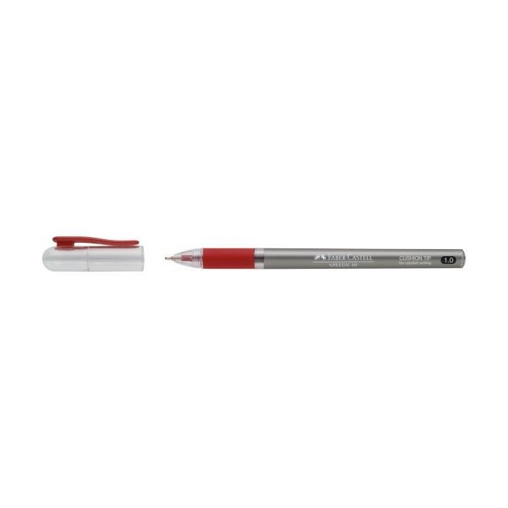 FABER-CASTELL Kugelschreiber Speedx (Rot)