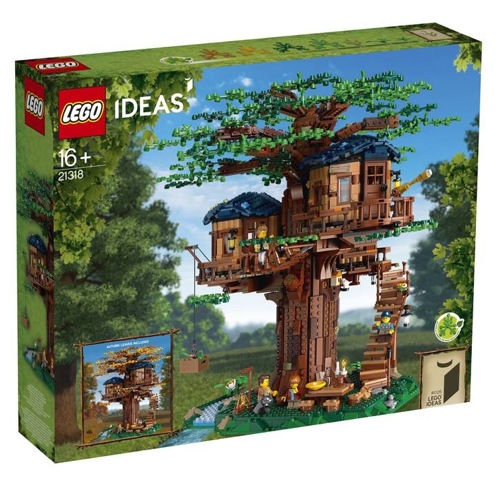 LEGO Ideas La cabane dans l'arbre (21318)