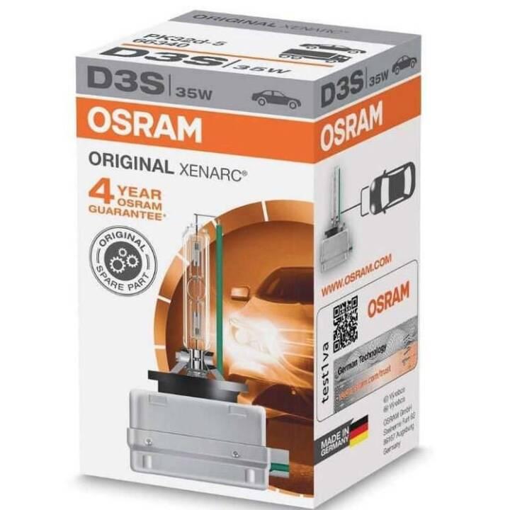 OSRAM D3S Xenarc Originale, autovettura
