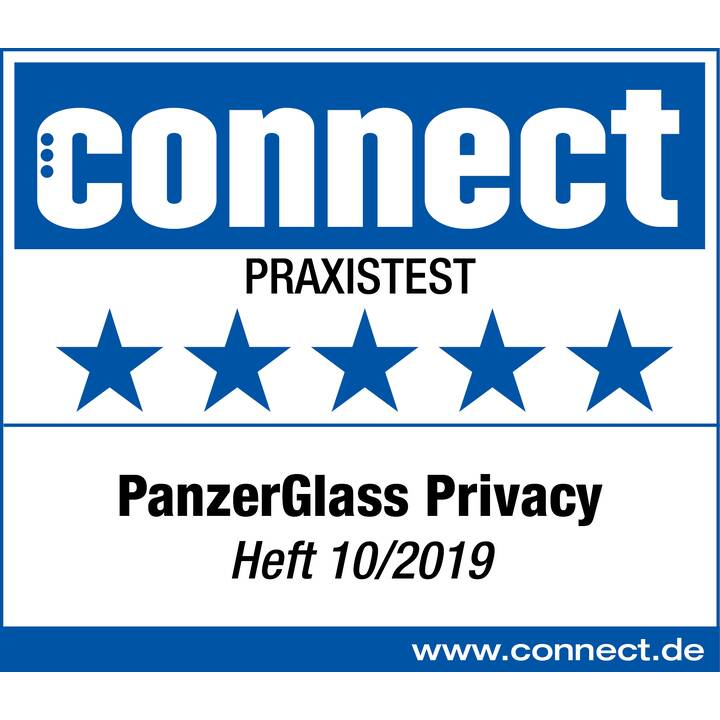 PANZERGLASS Displayschutzglas Privacy (Kristallklar, Galaxy S20)
