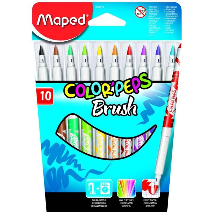 MAPED Filzstifte Brush 10 Stück