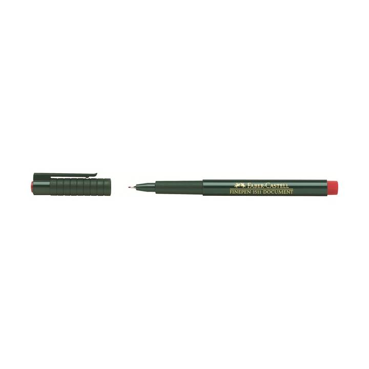 FINEPEN FABER-CASTELL FINEPEN 0.4mm Rosso