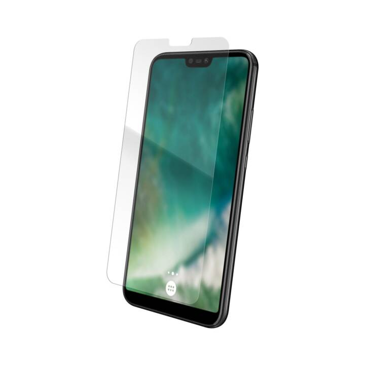 XQISIT Verre de protection d'écran Huawei P20 Lite (Hautement transparent, Clair)