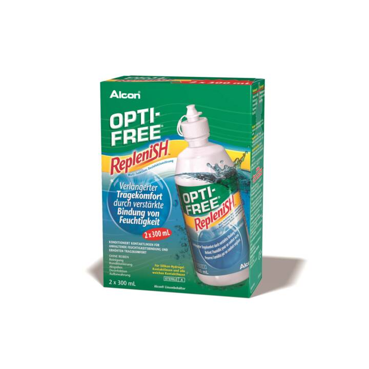 OPTI-FREE RepleniSH 2 x 300 ml (Linsenpflegemittel)
