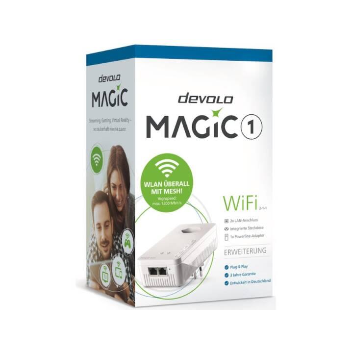 DEVOLO Magic 1 WiFi Erweiterung 2-1-1 (1200 Mo/s)